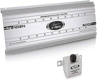 2 Channel Car Stereo Amplifier - 6,000 Watt Dual Channel Bridgeable Audio Sound Auto Speaker Amp Box w/Subwoofer Bass Cont...