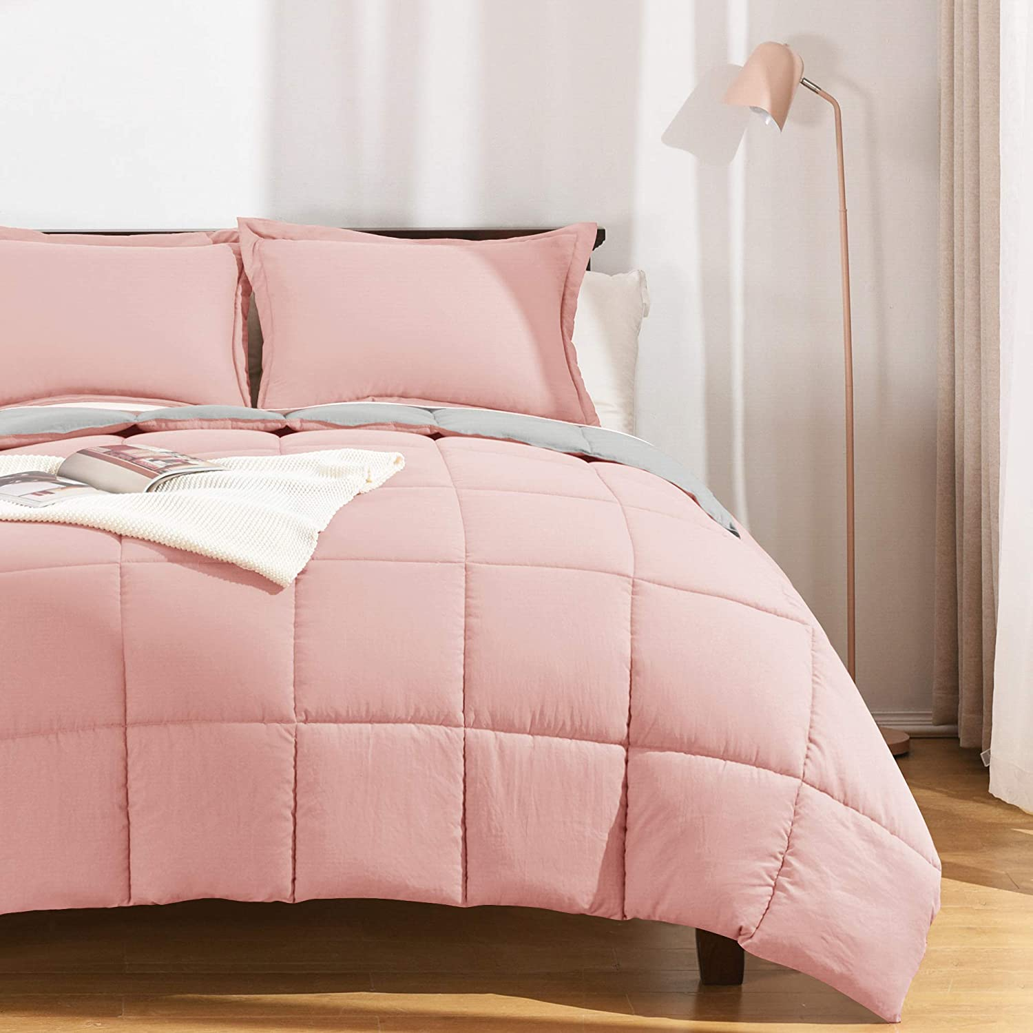 Basic Beyond 100% Washed Microfiber We OFFer at cheap prices Comforter King - Set Size Pi cheap