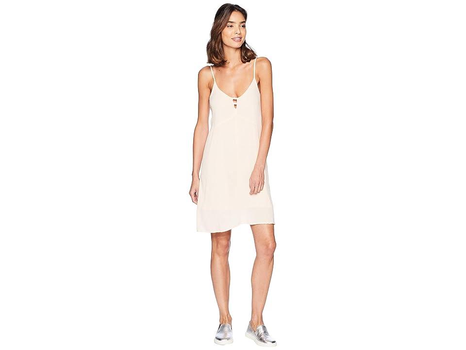 Roxy Full Bloom Woven Tank Dress (Peach Whip) Women
