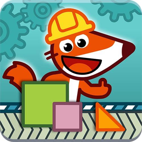 Pango Fox Factory - Juegos de códigos para niños 6 - 10