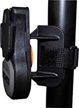 S4 Gear Sidewinder EVO Tubular Mount for Retractable Quick-Draw Tether System for Phone, Rangefinder, Binoculars, Radios, GPS - Great for Golf Carts!