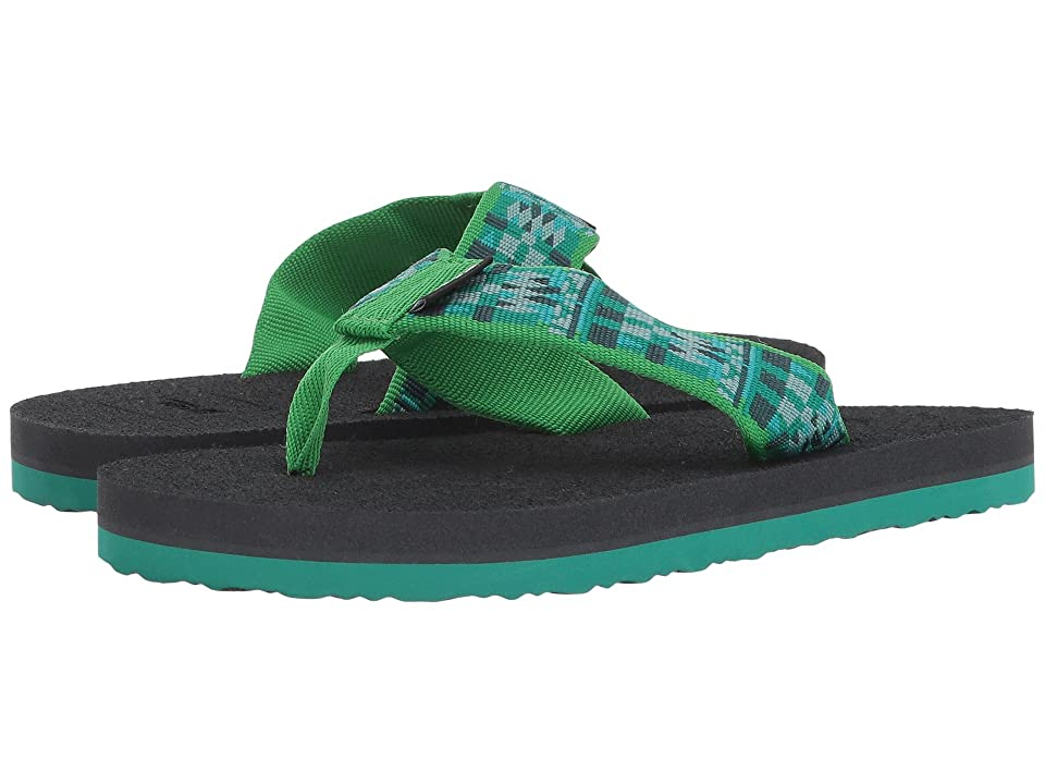 Teva Kids Mush II (Little Kid/Big Kid) (Robble Green) Kids Shoes