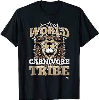 World Carnivore Tribe T-shirt
