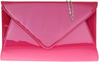 Girly Handbags Nouveau Cuir De N/éon Main Pochette Mill/ésime Soir/ée Soir/ée Pliez Sac /À Main Pliable