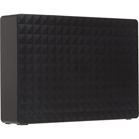 Seagate (STEB6000403) Expansion Desktop 6TB External Hard Drive HDD – USB 3.0 For PC Laptop