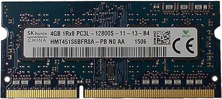 Ram memory 4GB (1 x 4GB) DDR3 PC3-12800,1600MHz, 204