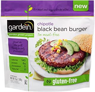 Gardein Chipotle Black Bean Burger, 12 Ounce -- 8 per case.