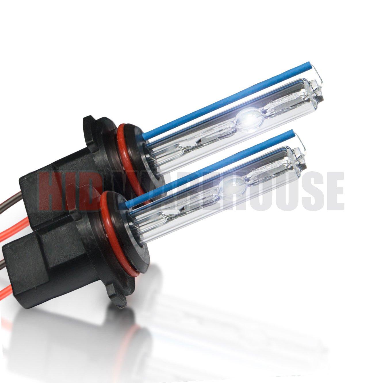 Medium Blue - 2 Year Warranty H3 8000K 1 Pair XtremeVision HID Xenon Replacement Bulbs