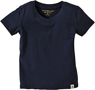 Baby Boys' T-Shirt, Short Sleeve V-Neck and Crewneck Tees, 100% Organic Cotton