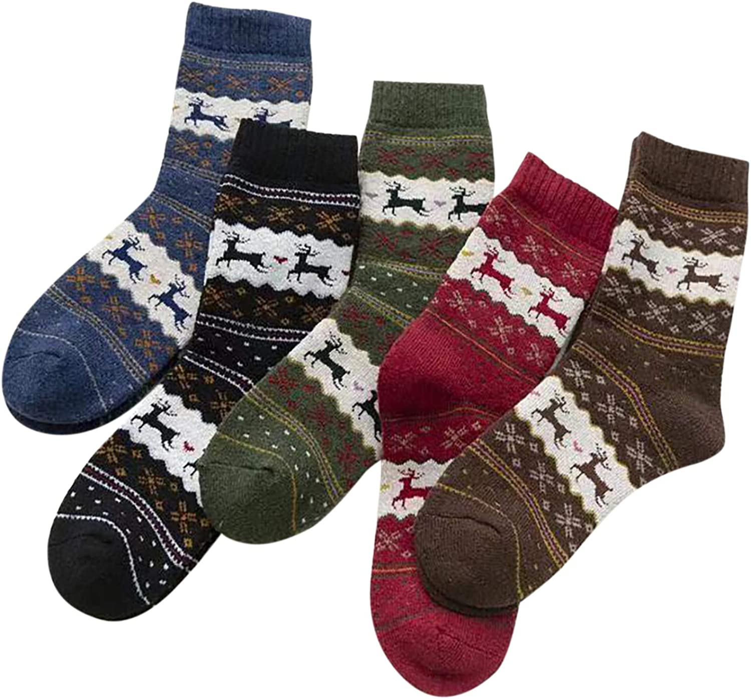 Mens Christmas Gift For Her Thermal Warm Soft Ladies Gift for Him Unisex Socks Womens Eco Friendly Winter Socks Bed Socks Cosy
