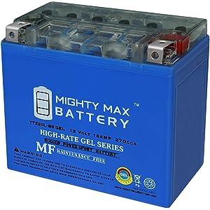 12/V//18ah Batterie Yuasa YTX20L de BS Dimensions: 175/x 87/x 155 pour Harley Davidson flstbi 1450/Night Train Ann/ée de construction 2005