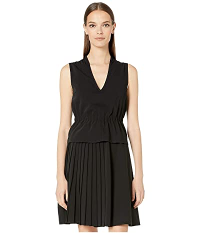 Sportmax Algebra Peplum Dress (Black) Women