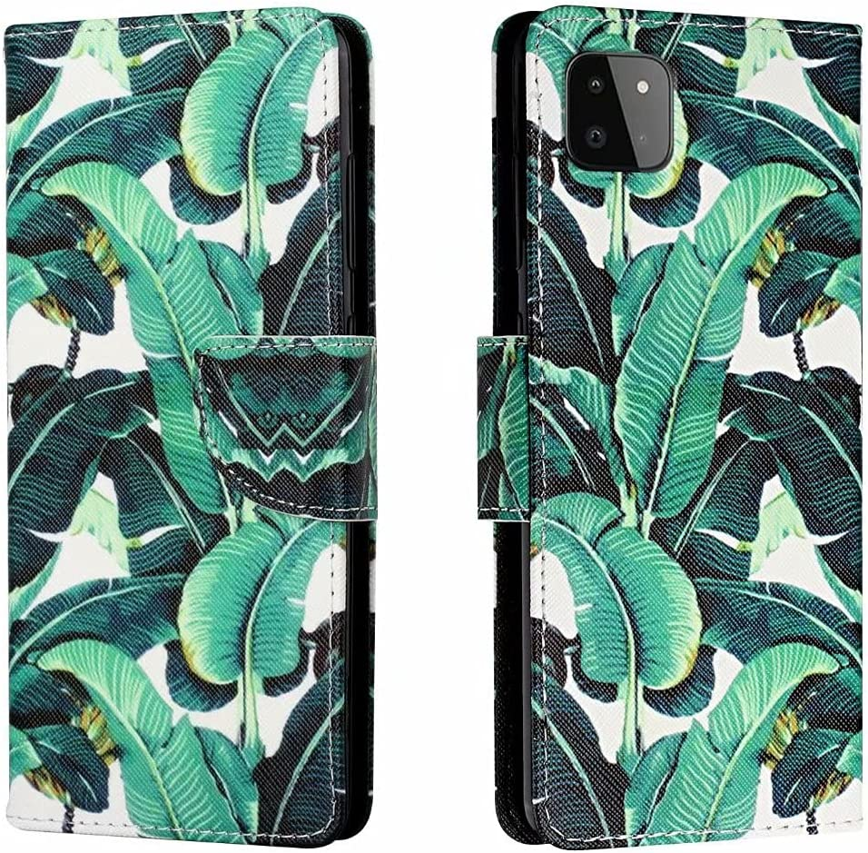 ZXL Wallet Case Compatible with Samsung Painted 1 year warranty PU A22 Galaxy Max 82% OFF 5G