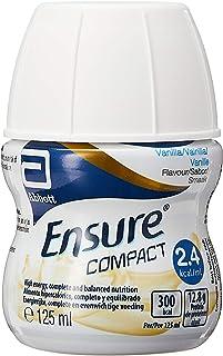 Abbott Ensure Compact - Ready to Drink Nutrition Supplement - Vanilla (4x125ml), Vanilla, 500 ml (Pack of 4)
