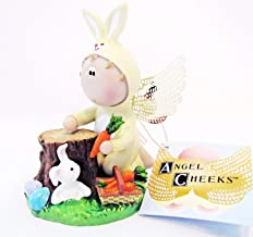 Angel Cheeks Bunny Rabbit with Carrots 2011 Easter Collectible with Tag New