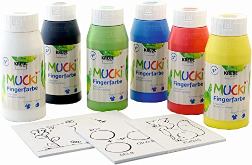 tienda KREUL KREUL KREUL 29150 - Mucki Dedo Pinta PowerPack Muéstrame el Mundo de los Colors  Sin impuestos