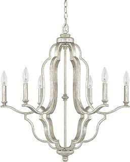 Capital Lighting 4946AS-000 Six Light Chandelier