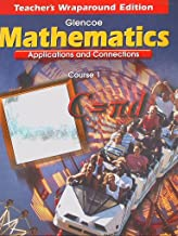 Glenco Mathematics, Applications and Connections, Course 1, Teacher's Wraparound Edition 199 ISBN 0028330536 9780028330532