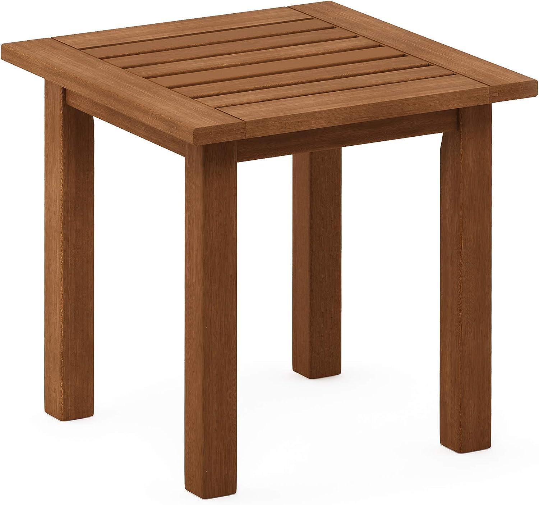 Furinno FG18506 Tioman End Table, Natural