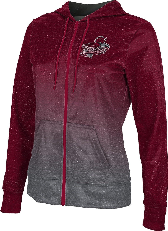ProSphere Ramapo College of New Jersey Girls' Zipper Hoodie, School Spirit Sweatshirt (Ombre)