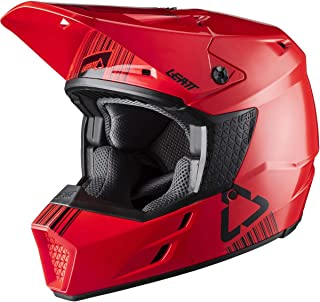 Leatt GPX 3.5 V20.1 Adult Off-Road Motorcycle Helmet - Red/Large