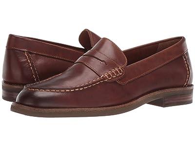 Sperry Topsfield Penny Loafer (Tan Leather) Men