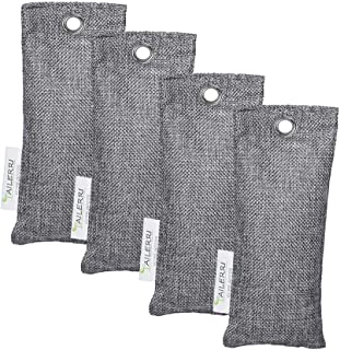 TAILERRI Bamboo Charcoal Air Purifying Bag, Moisture Absorber, Eco Friendly Car Air Purifier, Shoes Deodorizer, Closet Freshener(4 Pack)