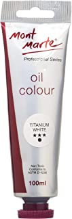 Mont Marte Oil Paint 100mls - Titanium White