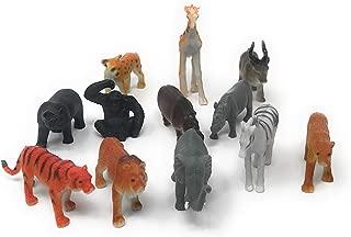 US Toy Mini Wild Animals Action Figure (3-Pack)