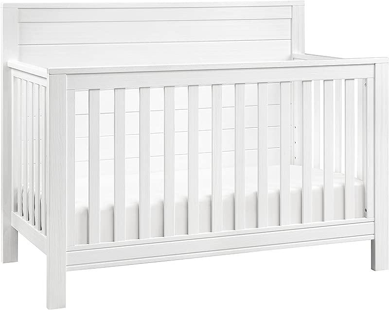 DaVinci Fairway 4 In 1 Convertible Crib Rustic White