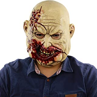 Sponsored Ad - Bloody Butcher,Creepy Orc ,Halloween Costume Walking Dead Props ,Horror Villain ,Heads Adults Cosplay Latex...
