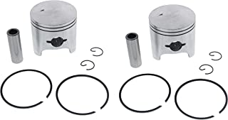 Piston Kit for Arctic Cat ZR 580 1996 1997 Snowmobile by Race-Driven x2