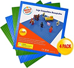Lego Compatible Baseplates (4 pieces of 10