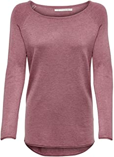 ONLY Onlmila Lacy L/S Long KNT Noos Pullover voor dames