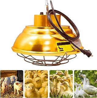 WOERD Ampoule Chauffante pour Poussin, Lampe Chauffante Infrarouge pour Chiot, 200-400W E27 Lampe Chauffante pour Animaux...