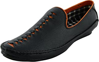 LeeGraim Men's Synthetic Leather Loafers