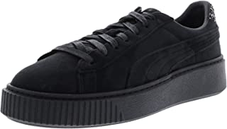 PUMA Womens Mens Suede Platform Crushed Gem