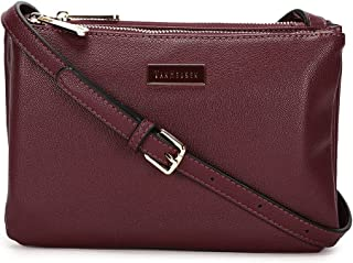 Van Heusen This Bag is Smooth Finished with Classy Look which Compliments Your Wardrobe (Burgundy)