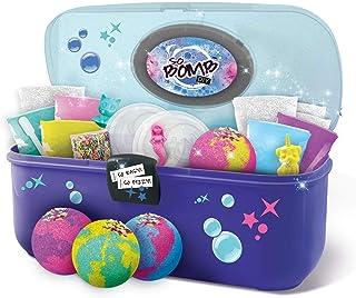 CANAL TOYS Maletín de herramientas para crear tus propias Bombas de baño, color azul y verde, Talla Única (1) , color/modelo surtido