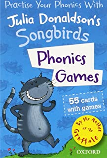 Oxford Reading Tree Songbirds: Phonics Games Flashcards