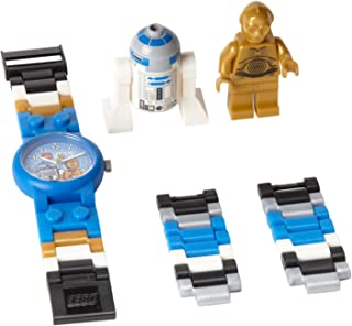 LEGO Kids Star Wars C-3PO and R2-D2 Plastic Watch with...