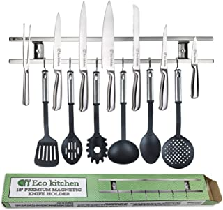Magnetic Knife Strip 18 Inch – Best Kitchen Magnetic Knife Holder – Wall..