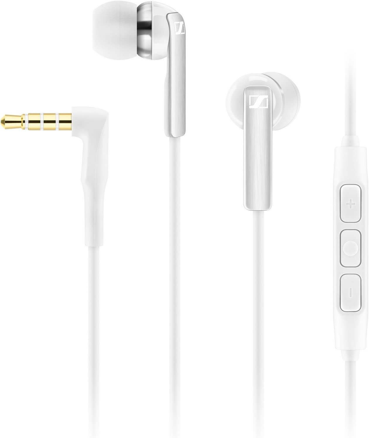 Sennheiser CX 2.00G White In-Ear Canal Headset (Discontinued by Manufacturer)
