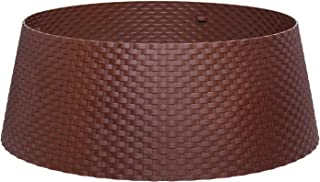 PINE AND PAINT LLC Plastic Christmas Tree Collar (Brown)