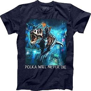 Polka Will Never Die T-Shirt Harry Dresden The Dresden Files