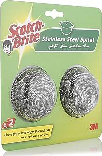 Scotch-Brite Stainless Steel Spirals - 2 Pieces