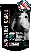 PET CARE Sciences Weight Gainer for Dogs Injury Recovery and Muscle Builder Supplement for Dogs with Multi Benefits Sweet Bacon Flavor Made in The USA