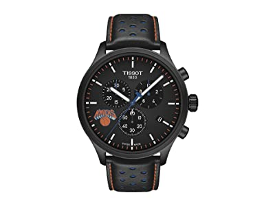 Tissot Chrono XL NBA Chronograph New York Knicks T1166173605105 (Black/Black/Blue) Watches