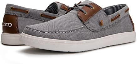 Globalwin Mens Casual Loafers Lace Up Classic Driving Boat Shoes