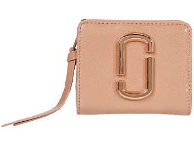 Marc Jacobs Snapshot DTM Mini Compact Wallet (Sunkissed) Handbags